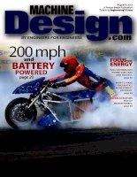 Machine design, tập 84, số 11, 2012