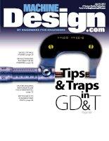 Machine design, tập 84, số 10, 2012