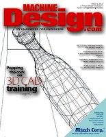 Machine design, tập 84, số 03, 2012