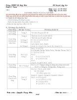 Giáo án toán 6 vnen năm học 2015   2016(phần chuẩn bị của giáo viên)
