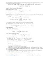 Bài tập ôn thi THPT quốc gia lớp 11