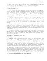 skkn THỰC HÀNH TIẾT KIỆM, CHỐNG LÃNG PHÍ TRONG QUẢN lý tài CHÍNH, tài sản ở TRƯỜNG THPT