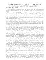 skkn một số GIẢI PHÁP NÂNG CAO CHẤT LƯỢNG đội NGŨ GIÁO VIÊN TRƯỜNG THPT TAM PHƯỚC