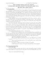 sáng kiến kinh nghiệm một số BIỆN PHÁP áp DỤNG TRONG GIẢNG dạy CHƯƠNG PHẢN ỨNG OXI hóa KHỬ của bộ môn hóa học lớp 10