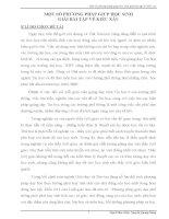 SKKN một số PHƯƠNG PHÁP GIÚP học SINH GIẢI bài tập về KIỂU xâu
