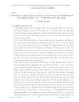 skkn gợi ĐỘNG cơ HOẠT ĐỘNG TRONG VIỆC GIẢNG dạy CHƯƠNG TRÌNH CON môn TIN học lớp 11 ở TRƯỜNG THPT
