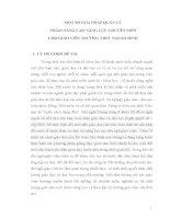 skkn  quản lý một số GIẢI PHÁP QUẢN lý NHẰM NÂNG CAO NĂNG lực CHUYÊN môn CHO GIÁO VIÊN TRƯỜNG THPT THANH BÌNH