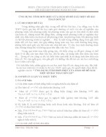skkn toán ỨNG DỤNG TÍNH đơn điệu của hàm số để GIẢI một số bài TOÁN sơ cấp