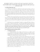 SKKN TIẾP tục HƯỚNG dẫn học SINH KHÁ, GIỎI vận DỤNG KIẾN THỨC TOÁN học vào VIỆC GIẢI các bài tập vật lí NÂNG CAO