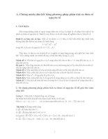 Chuyên đề về số học  Ôn thi hsg