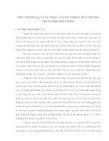 SKKN HIỆU TRƯỞNG QUẢN LÝ CÔNG TÁC CHỦ NHIỆM lớp ở TRƯỜNG TRUNG HỌC PHỔ THÔNG