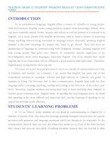 skkn tiếng anh 12 TEACHING GRADE 12 STUDENTS' SPEAKING SKILLS BY USING COMMUNICATIVE  TASKS