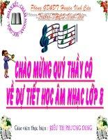 giáo án âm nhạc lớp 8 tích hợp kiến thức liên môn giúp học sinh học tốt tiết học hát bài 3 TIẾT 9 học hát bài TUỔI HỒNG có file đính kèm