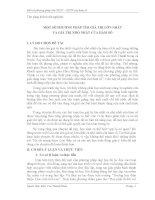 skkn một số PHƯƠNG PHÁP tìm GIÁ TRỊ lớn NHẤT và GIÁ TRỊ NHỎ NHẤT của hàm số