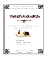SKKN sử dụng thơ, ca dao, tục ngữ trong dạy học địa lý tự nhiên lớp 10 và lớp 12