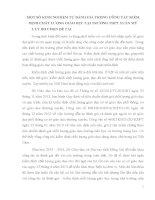 skkn một số KINH NGHIỆM tự ĐÁNH GIÁ TRONG CÔNG tác KIỂM ĐỊNH CHẤT LƯỢNG GIÁO dục tại TRƯỜNG THPT XUÂN mỹ