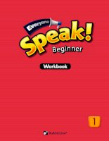 Everyone speak beginner1 WB key