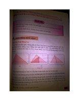 sách giáo khoa vnen môn toán 7 tập 2(một số trang phần hình học)