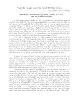 Người kể chuyện trong tiểu thuyết Hồ Biểu Chánh