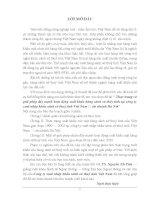 Tiểu luận thực trạng và giải pháp đẩy mạnh hoạt động xuất khẩu hàng sành sứ thuỷ tinh tại công ty XNK sành sứ thuỷ tinh VN chi nhánh hà nội