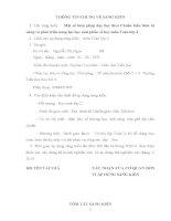skkn  một số biện pháp DH theo chuẩn KTKN và PT năng lực HS phần số học môn toán lớp 2
