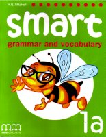 Smart grammar and vocabulary 1a