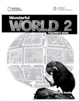 wonderful world 2 teacher s book