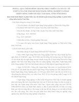 Tiểu luận phân tích HOẠT ĐỘNG sản XUẤT KINH DOANH của CHI NHÁNH NHNo  PTNT HUYỆN TAM đảo, TỈNH VĨNH PHÚC
