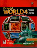 wonderful world 4 students book and workbook