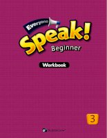 Everyone speak beginner3 WB