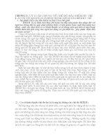 Luận văn thực trạng và giải pháp về chế độ bảo hiểm xã hội hưu trí tại VN