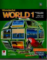 wonderful world 1 students book and workbook