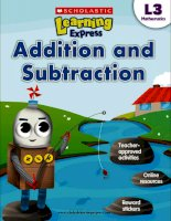 Math addition and subtraction l3