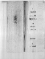 E  eckersley    a concise english grammar for foreign students