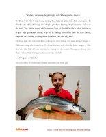 Những trường hợp tuyệt đối không nên ăn cá