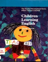 Children learning english 2000