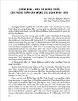 Lịch sử Quảng Bình dành cho học sinh THCS