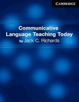 Communicative language teaching today   cambridge university press(1)