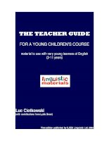 English teacher guide