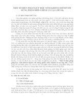 sáng kiến kinh nghiệm một số BIỆN PHÁP GIÚP học SINH KHIẾM THÍNHVIẾT ĐÚNG PHÂN môn CHÍNH tả