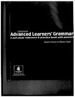 Longman advanced learners 39 grammar