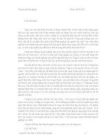 Tiểu luận giải pháp hoàn thiện quản trị kho nguyên vật liệu tại công ty liên doanh chế tạo xe máy lifan việt nam (chương 3)