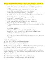 Bài tập tổng hợp hóa 8 chương I CHẤT  NGUYÊN TỬ  PHÂN TỬ (Phần I)