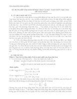 skkn sử DỤNG đồ THỊ hàm số bậc HAI và dấu TAM THỨC bậc HAI để GIẢI TOÁN