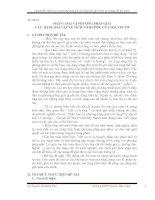 SKKN PHÂN LOẠI và PHƯƠNG PHÁP GIẢI các  DẠNG bài tập về TÍCH vô HƯỚNG của HAI VECTƠ