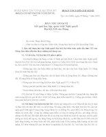 Bài thu hoạch hoàn chỉnh nghị quyết đại hội đảng XII (Có liên hệ thực tế chung)