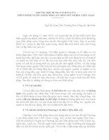 Những nội dung cơ bản của hiến pháp năm 2013