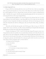 SKKN hệ THỐNG các DẠNG bài tập THƯỜNG gặp của CHƯƠNG III PHƯƠNG PHÁP tọa độ TRONG KHÔNG GIAN