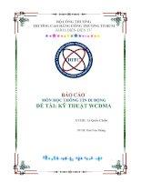 kỹ thuật WCDMA trong mạng di động