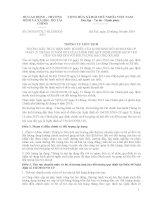 Thông tư liên tịch 29/2014/TTLT-BLĐTBXH-BTC về chính sách trợ giúp xã hội với đối tượng bảo trợ xã hội
